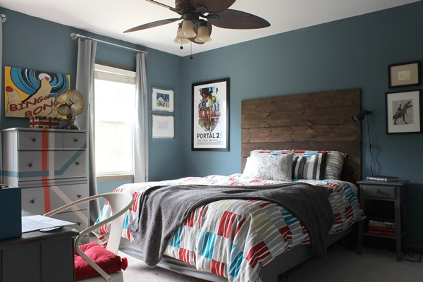 Ari S Room All Finished Rustic Industrial Tween Room