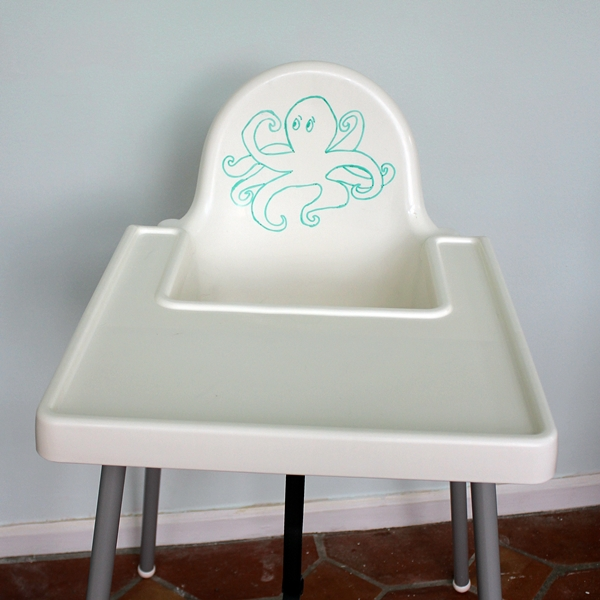(I Wouldnu0027t Need to Draw an Octopus on a High Chair) -