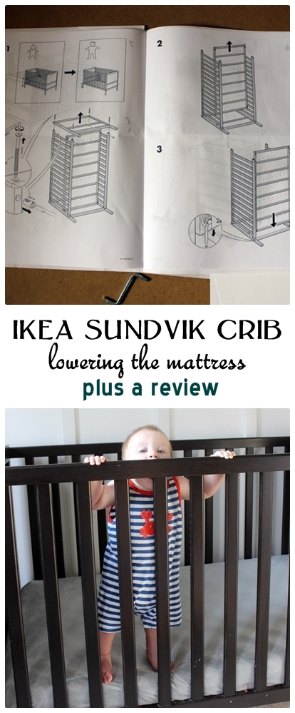 the ikea sundvik crib eight months later a bit of. Black Bedroom Furniture Sets. Home Design Ideas