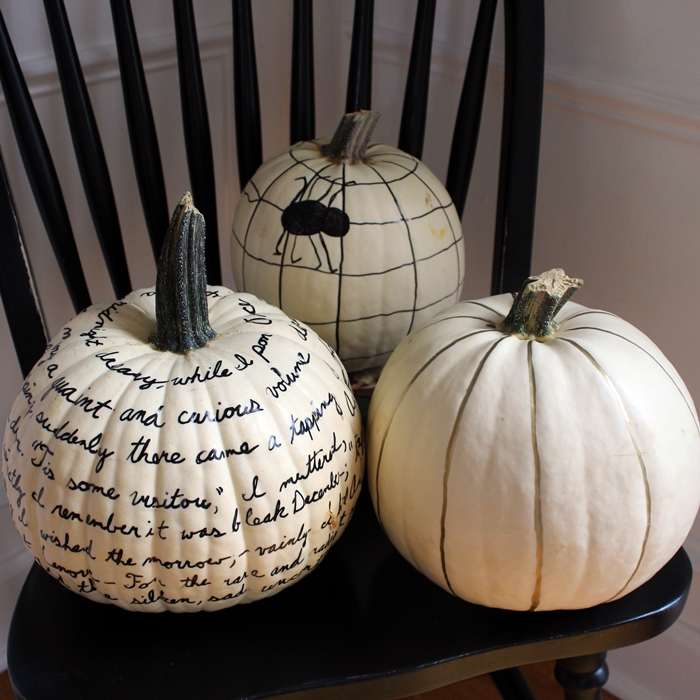sharpie pumpkins square