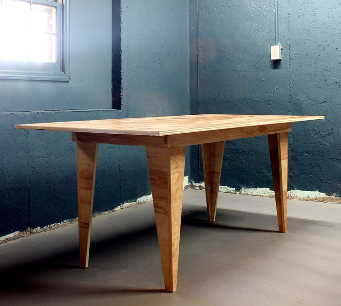 Plywood table plans to build mission style furniture for Plywood coffee table diy