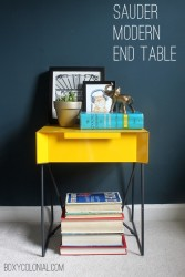 Modern side table from Sauder