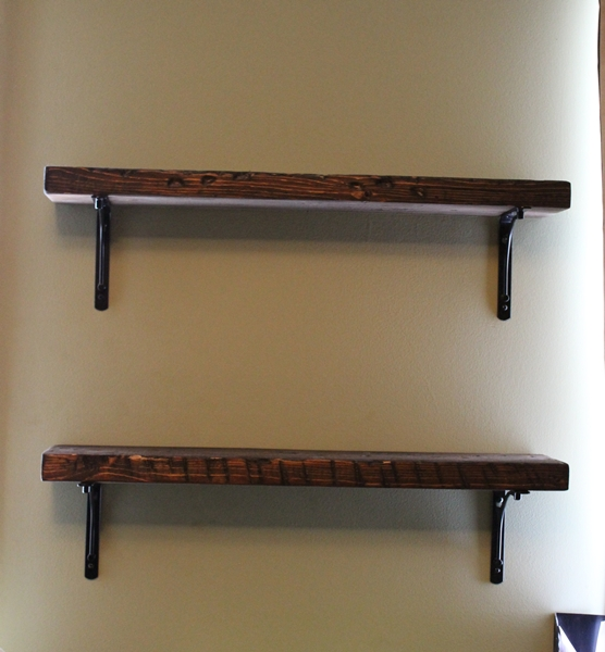 Reclaimed Wood Shelves: DIYAS 15/15 Project -