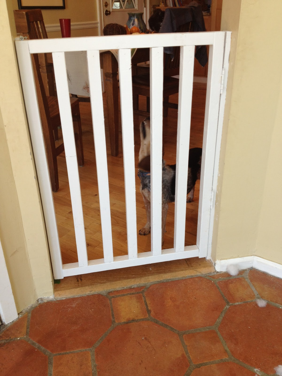 Weekend Project 2 Revealed Diy Wooden Baby Gate