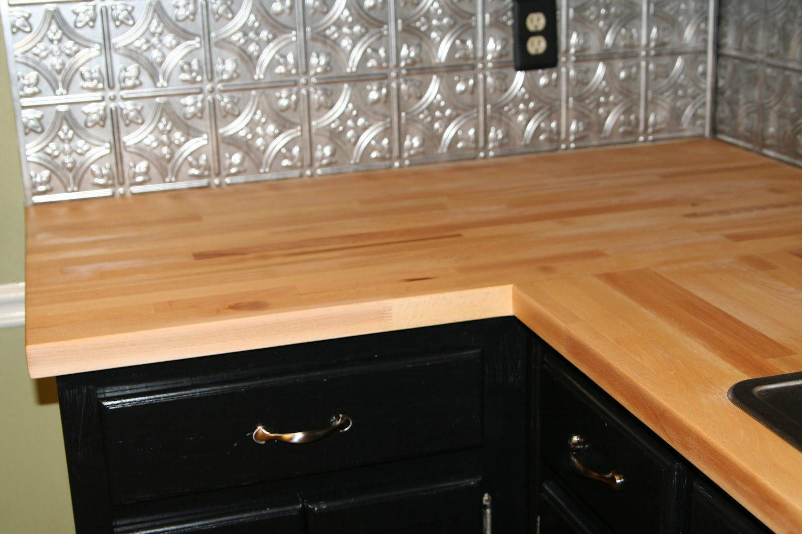 loved these counter tops but i was terrified of using them i spent